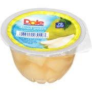 Dole Diced Pear In 100% Juice, 4 Ounce Cups -- 36 per case