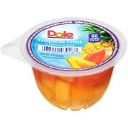 Dole Tropical Fruit in 100% Juice Cup, 4 Ounce Cup -- 36 per case