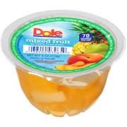 Dole Mixed Fruit In 100 Percent Juice, 4 Ounce -- 36 per case