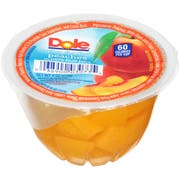 Dole Diced Peaches In Juice, 4 Ounce --36 per case