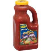 Ortega Chunky Salsa Sauce 6 Case 1/2 Gallon