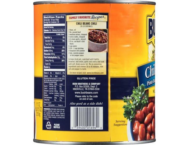 Bean Chili Sauce , no10 Can -- 6 Case