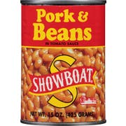 Showboat Pork and Beans, 15 Ounce -- 12 per case