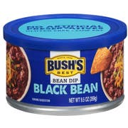 Bush Brothers Black Bean Dip, 9 Ounce -- 12 per case
