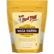 Bobs Red Mill Masa Harina Golden Corn Flour, 22 Ounce Pouch -- 4 per case