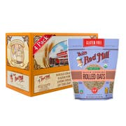Bobs Red Mill Gluten Free Organic Quick Cooking Rolled Oats, 32 Ounce -- 4 per case.