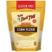 Bobs Red Mill Gluten Free Corn Flour, 22 Ounce Pouch -- 4 per case