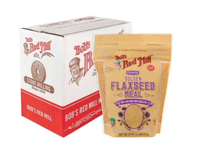 Bobs Red Mill Golden Flaxseed, 13 Ounce -- 6 per case.