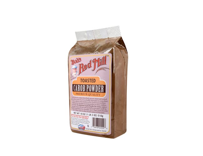 Bobs Red Mill Toasted Carob Powder, 18 Ounce -- 4 per case.