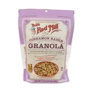 Bobs Red Mill Cinnamon Raisin Granola, 12 Ounce -- 4 per case.