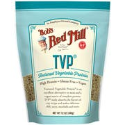 Bobs Red Mill Textured Vegetable Protein, 12 Ounce -- 4 per case