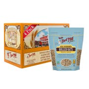 Bobs Red Mill Old Fashioned Regular Rolled Oats, 32 Ounce -- 4 per case.