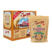 Bobs Red Mill Organic Golden Flaxseed Meal, 16 Ounce -- 4 per case.