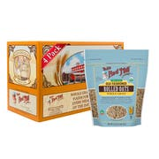 Bobs Red Mill Organic Old Fashioned Rolled Oats, 32 Ounce -- 4 per case.