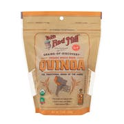 Bobs Red Mill Organic White Quinoa, 26 Ounce -- 4 per case.