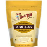 Bobs Red Mill Corn Flour, 22 Ounce Pouch -- 4 per case
