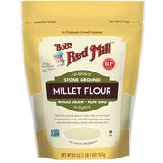 Bobs Red Mill Stone Ground Millet Flour, 20 Ounce Pouch -- 4 per case