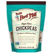 Bobs Red Mill Chickpeas, 25 Ounce -- 4 per case