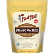 Bobs Red Mill Gluten Free Garbanzo and Fava Bean Flour, 22 Ounce -- 4 per case