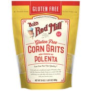 Bobs Red Mill Gluten Free Corn Grits/Polenta, 24 Ounce Pouch -- 4 per case