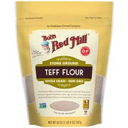 Bobs Red Mill Whole Grain Teff Flour, 20 Ounce -- 4 per case
