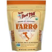 Bobs Red Mill Organic Farro, 24 Ounce Pouch -- 4 per case