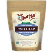 Bobs Red Mill Organic Spelt Flour, 20 Ounce -- 4 per case