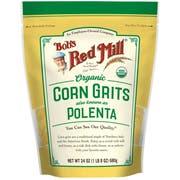Bobs Red Mill Organic Corn Grits/Polenta, 24 Ounce -- 4 per case