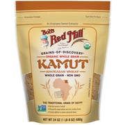 Bobs Red Mill Organic Kamut Grain, 24 Ounce Pouch -- 4 per case