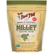 Bobs Red Mill Whole Grain Millet, 28 Ounce -- 4 per case