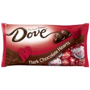 Dove Valentines Dark Chocolate Hearts, 8.87 Ounce -- 24 per case