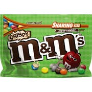 M and Ms Crispy Chocolate Candy, 8 Ounce -- 8 per case.
