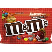 M and Ms Peanut Butter Chocolate Candy, 9.6 Ounce -- 8 per case.