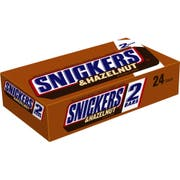 Snickers Hazelnut Candy Bar - Sharing Size, 3.23 Ounce -- 144 per case.