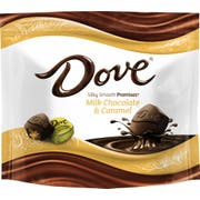 Dove Promises Milk Chocolate and Caramel Candy, 7.61 Ounce Stand Up Pouch -- 8 per case.