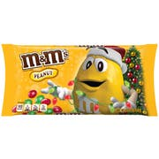 M and Ms Christmas Peanut Chocolate Candy, 10 Ounce -- 12 per case