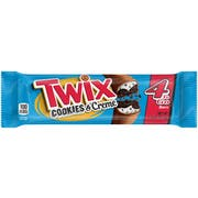 Twix Cookies and Creme Share Size 4 To Go Bar, 20 count per pack -- 6 per case