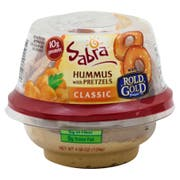 Sabra Classic Hummus with Pretzel, 4.56 Ounce -- 12 per case.