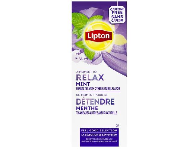 Lipton Mint Enveloped Hot Tea Bags, 28 count -- 6 per case