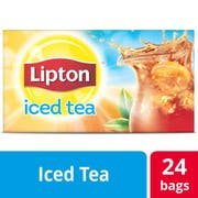 Lipton Black Iced Tea Bags Unsweetened, 3 gallon -- 24 per case