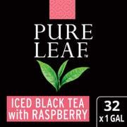 Pure Leaf Iced Black Tea With Raspberry, 1 gallon -- 32 per case