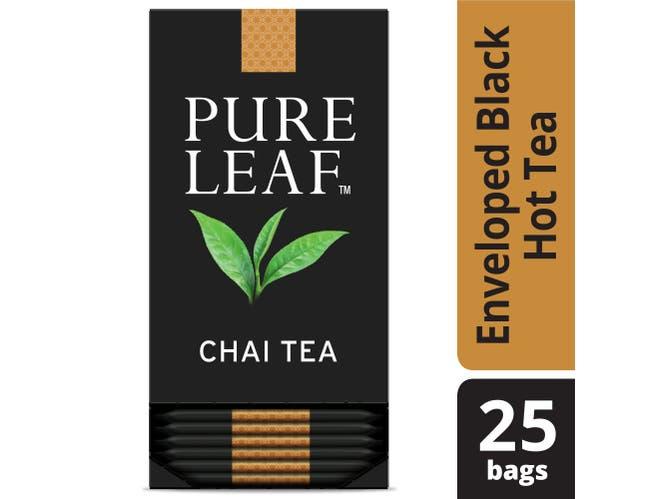 Pure Leaf Chai Enveloped Hot Tea Bags, 25 count -- 6 per case