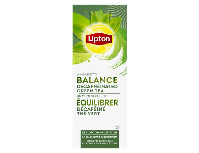 Lipton Decaffeinated Green Enveloped Hot Tea Bags, 28 count -- 6 per case