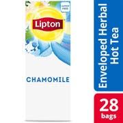 Lipton Chamomile Enveloped Hot Tea Bags, 28 count -- 6 per case