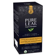 Pure Leaf Organic Ginger with Orange Blossom Herbal Hot Tea Bags, 20 count per pack --  6 per case