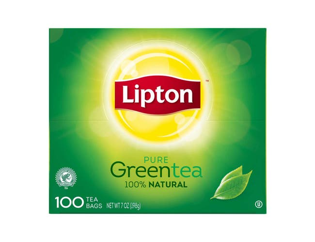 Lipton Green Enveloped Hot Tea Bags, 100 count -- 5 per case
