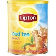 Lipton Sweetened Peach Iced Tea, 10 Quart -- 6 per case