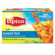 Lipton Sweet Iced Tea Bags, 1 gallon Pack of 24 -- 2 per case