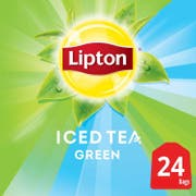 Lipton Green Iced Tea Bags Unsweetened, 1 gallon -- 48 per case