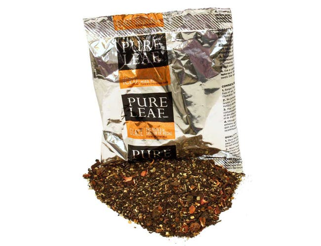 Pure Leaf Iced Loose Tea Pouch Black with Peach, 3 gallon -- 24 per case